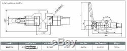 HYDRAULIC WOOD LOG SPLITTER CONTROL VALVE 120LPM /32 Gpm SPRING CENTRE /KICK OFF