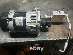 Harrison Hydraulic Generator + Hydraforce Control Valve
