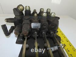 Husco 4 Spool Hydraulic Control Manual Valve From a Hyster E80XL3 Fork Lift