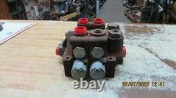Hydraulic Control Valve Stackable Double Spool