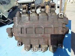 Hydraulic Control valve 4 spool #8398