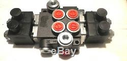 Hydraulic Valve, E Electric Control Valve 24 V 2 Sektio50 L / for Double Action