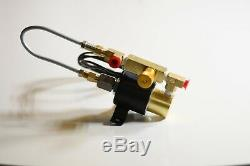 Hydraulic launch control clutch slipper solenoid valve manual transmission SWS