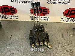 Hydraulic raise / lower control valve block X Ransomes 213 mower. £60+VAT