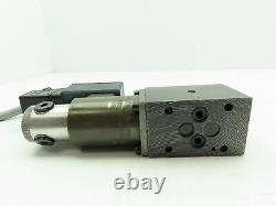 Hydrolux Hydraulic Proportional Pressure Relief Solenoid Control Valve withDriver
