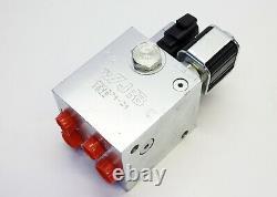 JRB C33274-24 Hydraulic Solenoid Control Valve for Excavator Coupler