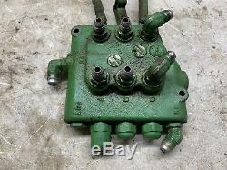 John Deere 140 H3 Tractor Hydraulic Control Valve