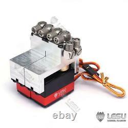 LESU 2CH Directional Control Valve Servo 1/14 RC Hydraulic Dumper Truck Loader
