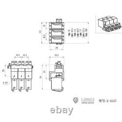 LESU 6CH Hydraulic Directional Control Valve for 1/14 RC Excavator Dumper Truck