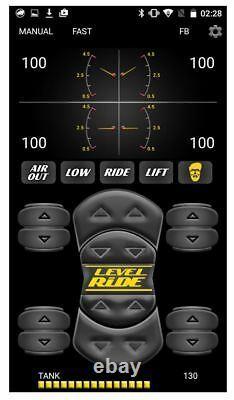 Level Ride Air Suspension Pressure Only 480 Compressor Brass Valves 2500s/2600s