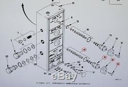 Lmtv Hydraulic Control Box Cab Tilt Spare Tire Function Selector Valve & Knob