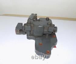 Mahindra Tractor Control Valve with Sub Plate & Lever Assembly