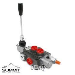 Monoblock Hydraulic Directional Control Valve, 1 Spool, 11 GPM, with 3-Pos Detent