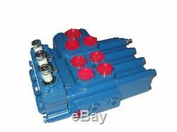 P80-3/4-222-g Belarus Hydraulic Control Block Spool Valve
