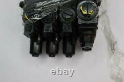 Pack of 1 HUSCO 4-SPOOL HYDRAULIC DIRECTIONAL CONTROL VALVE 5000CC-C54