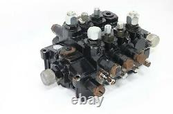 Parker Hydraulic Control Valve 4 Section