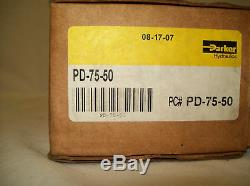 Parker Hydraulics Directional 3/4Pressure/Regulator/Flow Control Valve PD75-50