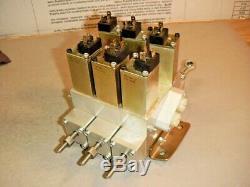 Parker VOAC Hydraulics EHA30003B 3 Spool 12V Solenoid Control Valve