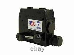 Prince Hydraulic Compensated Flow Control RDRS-1975-30 3/4 Ports 0-30GPM Relief