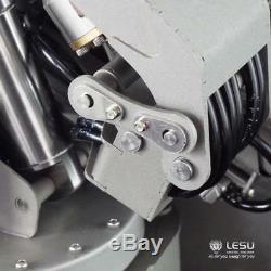US Stock LESU Hydraulic Truck Crane WithControl Valve Oil Pump Dumper 1/14 RC Part