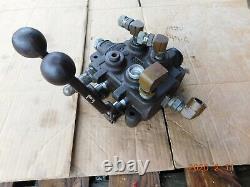 Used Industrial Dual Handle Hydraulic Control Valve