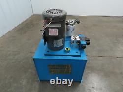 Vickers Hydraulic Power Unit Vane Pump 3 GPM 1000 PSI Control Valve 3 P 23/460V