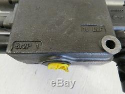 Walvoil 2-Spool Hydraulic Control Valve 7GH121201-H NEW