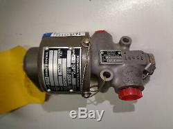 Whittaker Controls 142395-1 Valve Hydraulic Solenoid Control New